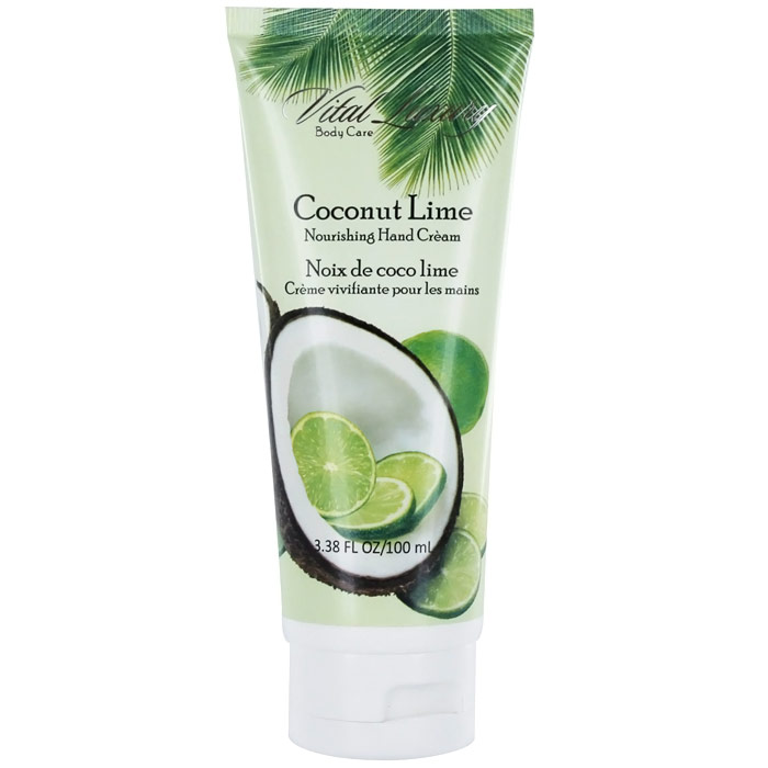 Nourishing Hand Cream - Coconut Lime, 3.38 oz (100 ml), Vital Luxury