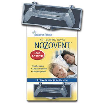 NoZovent Anti-Snoring Device 2 pack, Scandinavian Formulas