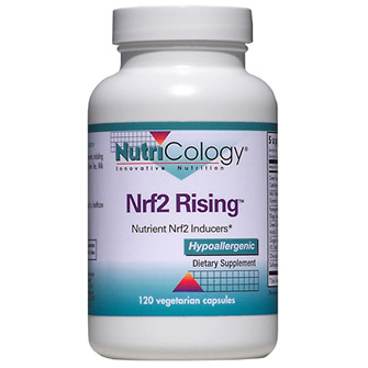 Nrf2 Rising, Nutrient Nrf2 Inducers, 120 Vegetarian Capsules, NutriCology
