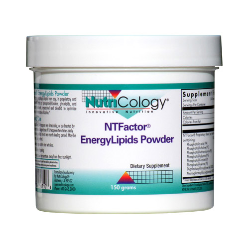 NT Factor EnergyLipids Powder (Energy Lipids), 150 g, NutriCology
