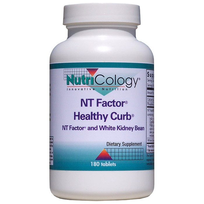 NT Factor Healthy Curb Formula, 180 Tablets, NutriCology (With White Kidney Bean)