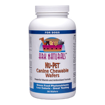 Nu-Pet Canine Chewable Wafers 90 wafers from Ark Naturals