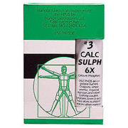 Image of NuAge Tissue Salts Calc Sulph (Calcarea Sulphurica) 6X 125 tabs from Hylands (Hyland's)