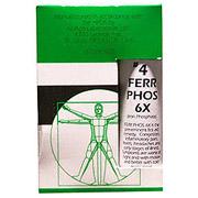 NuAge Tissue Salts Ferrum Phos (Ferrum Phosphoricum) 6X 125 tabs from Hylands (Hyland's)
