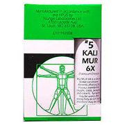 NuAge Tissue Salts Kali Mur (Kali Muriaticum) 6X 125 tabs from Hylands (Hyland's)