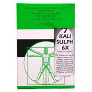 NuAge Tissue Salts Kali Sulph (Kali Sulphuricum) 6X 125 tabs from Hylands (Hyland's)