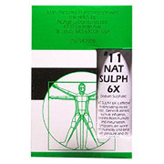 NuAge Tissue Salts Natrum Sulph (Natrum Sulphuricum) 6X 125 tabs from Hylands (Hyland's)