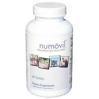 Numovil: Daily Tablets to Fight Memory Decline, 60 Tablets