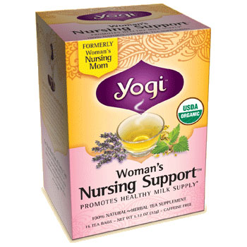 Woman's Nursing Support Tea (Promotes Lactation) 16 tea bags from Yogi Tea