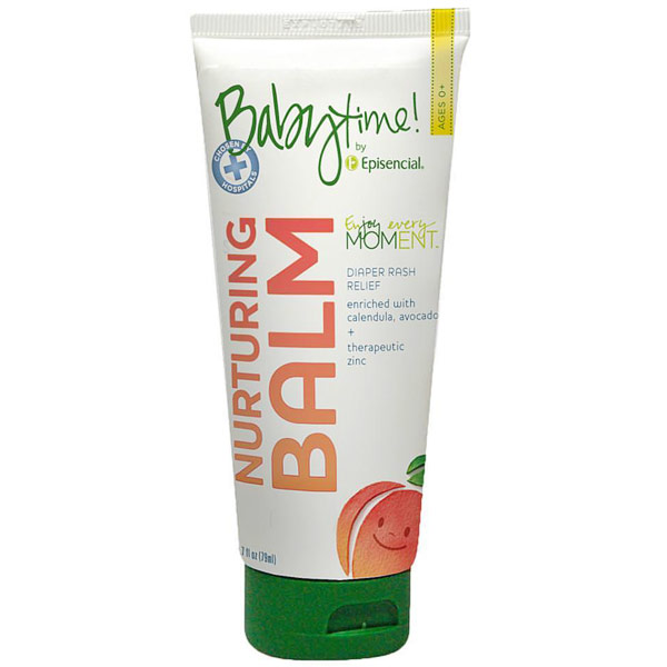 Baby Time Nurturing Balm, Diaper Rash Relief Cream, 2.7 oz, Babytime by Episencial