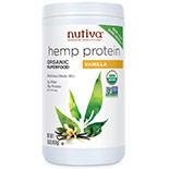 Nutiva Organic Hemp Protein Shake, Vanilla, 16 oz