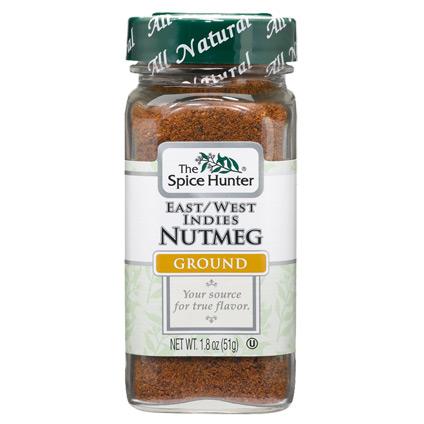 Image of Nutmeg, East/West Indies, Ground, 1.8 oz x 6 Bottles, Spice Hunter