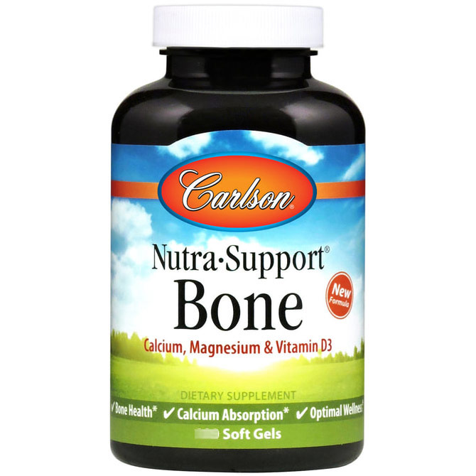 Nutra-Support Bone, 90 softgels, Carlson Labs