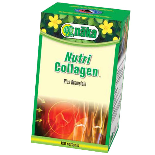 Nutri Collagen Plus, 120 Softgels, Naka Herbs & Vitamins Ltd