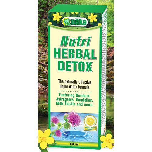 Nutri Herbal Detox Liquid, 500 ml, Naka Herbs & Vitamins Ltd