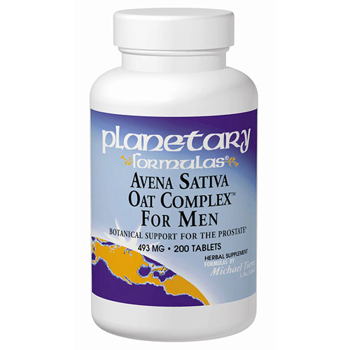 Avena Sativa Oat Complex for Men 200 tabs, Planetary Herbals