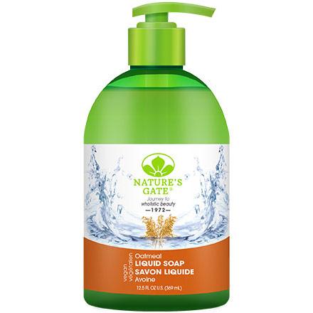 Oatmeal Liquid Soap, 12.5 oz, Natures Gate