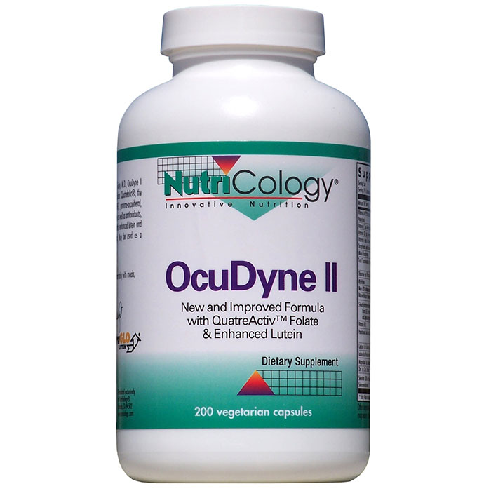 OcuDyne II Eye Support 200 caps from NutriCology