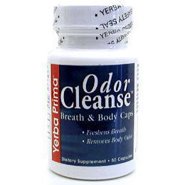 Odor Cleanse for Breath & Body 50 caps from Yerba Prima