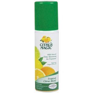 Odor Eliminating Air Freshener Blister Pack, Tropical Citrus Blend, 1.5 oz, Citrus Magic