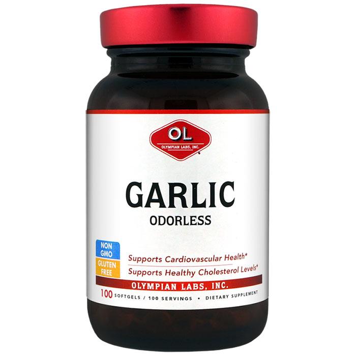 Odorless Garlic, 30 Softgels, Olympian Labs