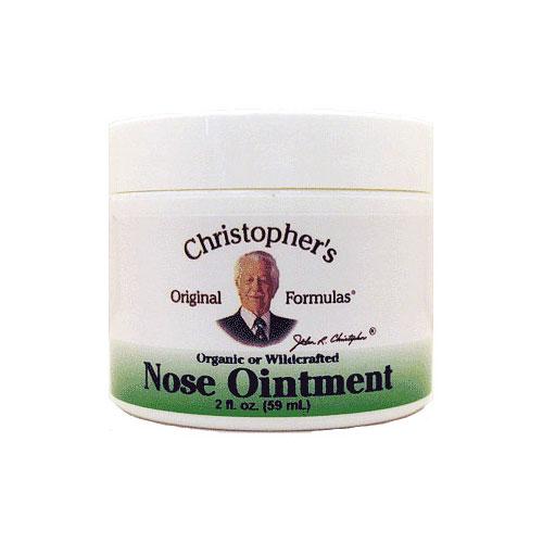 Nose Ointment, 2 oz, Christophers Original Formulas