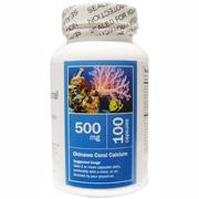 Okinawa Coral Calcium 500 mg, 100 Capsules, All Nature
