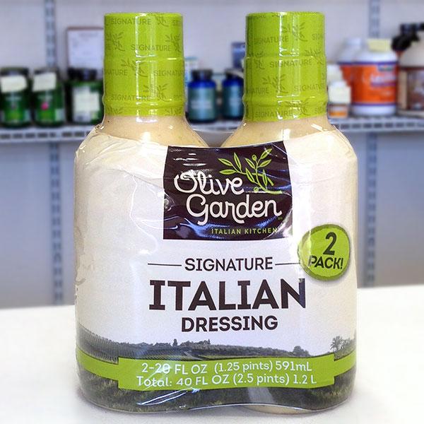 Olive Garden Signature Italian Salad Dressing, 20 oz x 2 Bottles