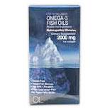 Omega 3 Fish Oils 1000mg (180EPA/120DHA), 120 Softgels, Olympian Labs