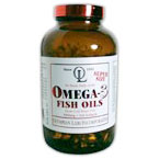 Omega 3 Fish Oils 1000mg (180EPA/120DHA), 240 Softgels, Olympian Labs