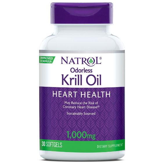 Omega-3 Krill Oil 1000 mg, 30 Softgels, Natrol