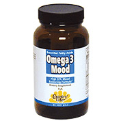 Omega 3 Mood 90 Softgels, Country Life