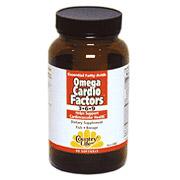 Omega Cardio Factors 3-6-9 90 Softgels, Country Life