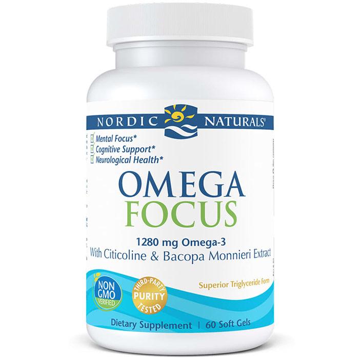 Omega Focus, 90 Softgels, Nordic Naturals