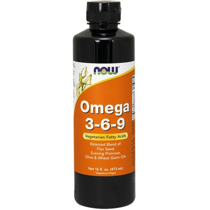 Omega 3-6-9 Organic, 16 oz liquid, NOW Foods