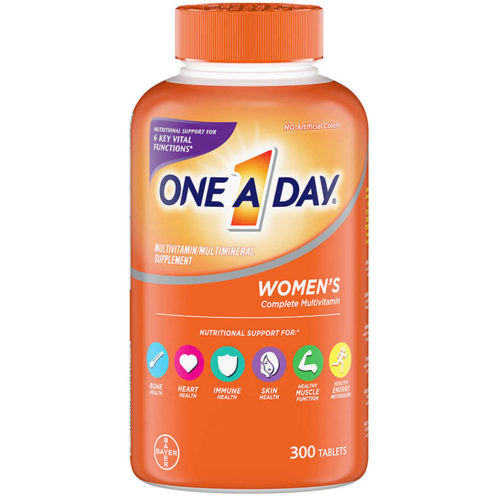 One-A-Day Womens Formula Multi-Vitamins, 300 Tablets, One A Day