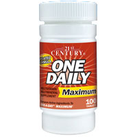 Image of One Daily Maximum Multivitamins, 100 Tablets, 21st Century Health Care