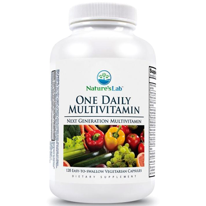 One Daily Multivitamin, 120 Vegetarian Capsules, Natures Lab