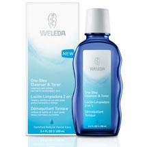 Weleda One Step Cleanser & Toner, 3.4 oz