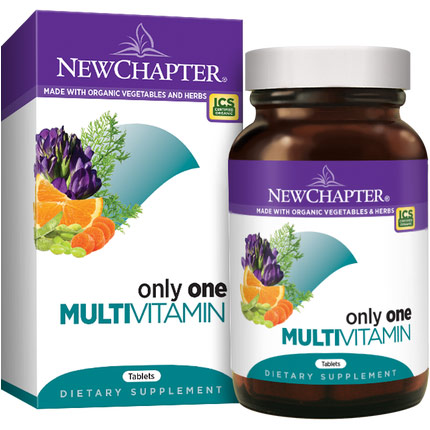 Only One, Everyones One Daily Multi Vitamins, 72 Tablets, New Chapter
