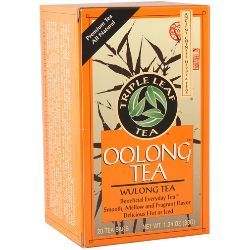 Oolong Tea, 20 Tea Bags x 6 Box, Triple Leaf Tea