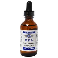 O.P.A. (Orthophosphoric Acid), 2 oz, Progressive Laboratories
