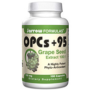 OPCs Plus 95, Grape Seed Extract 100 mg 100 caps, Jarrow Formulas