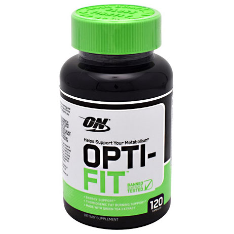 Opti-Fit, Helps Support Your Metabolism, 120 Capsules, Optimum Nutrition
