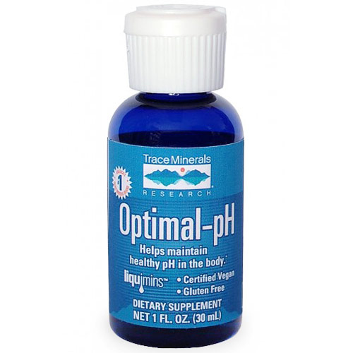 Optimal-pH, Ionic Trace Minerals Supplement, 1 oz, Trace Minerals Research