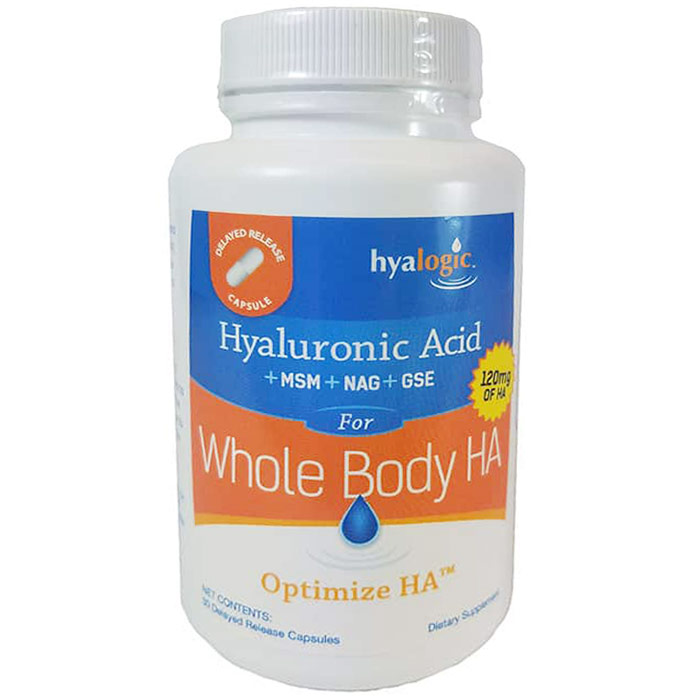 Optimize HA for Whole Body, 30 Delayed Release Capsules, Hyalogic
