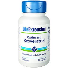 Optimized Resveratrol, 60 Vegetarian Capsules, Life Extension