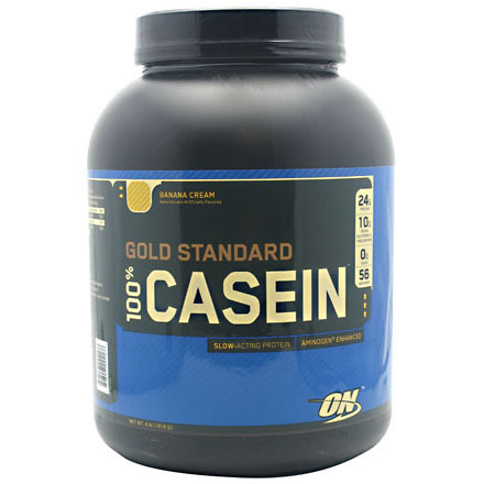 Optimum Nutrition 100% Casein Protein, 4 lb