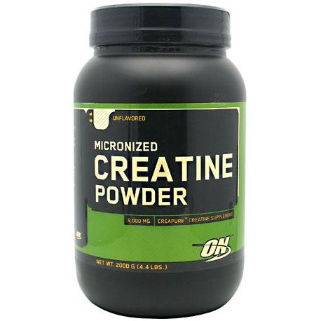 Optimum Nutrition Creatine Powder, Unflavored, 2000 g