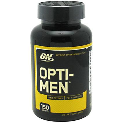 Optimum Nutrition Opti-Men, High Potency Multi Vitamins for Men, 150 Tablets